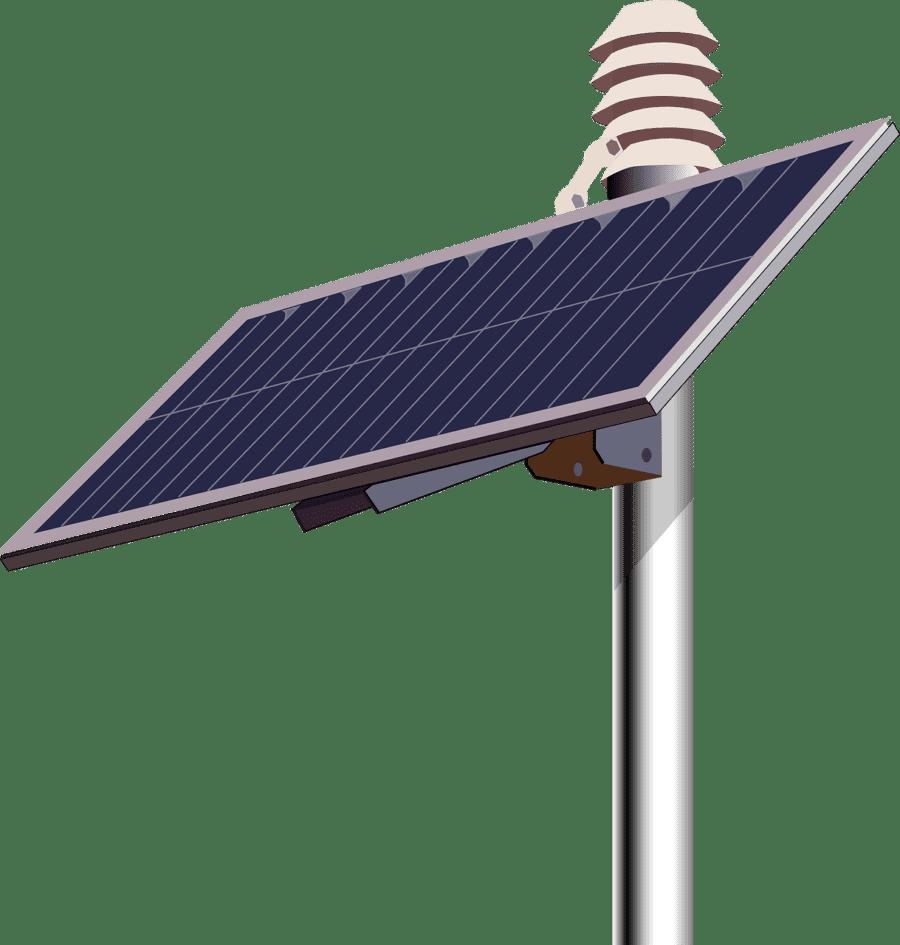 panneau-solaire-poteau